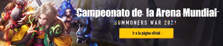 Campeonato de la Arena Mundial de Summoners War 2021 Ir a la página oficial