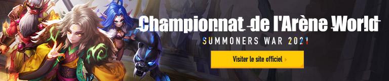Championnat de l'Arène World Summoners War 2021 Visiter le site officiel
